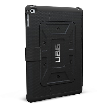 UAG iPad Air 2 6th Gen Scout Folio Case, Black/Black