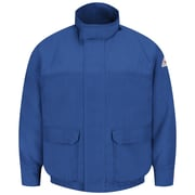 Bulwark  Lined Bomber Jacket - CoolTouch 2 LN x L, Royal blue