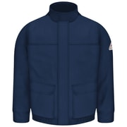 Bulwark Men's Lined Bomber Jacket - EXCEL FR ComforTouch RG x S, Navy