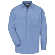 Bulwark Men's Work Shirt - EXCEL FR ComforTouch - 7 oz. RG x XXL, Light blue