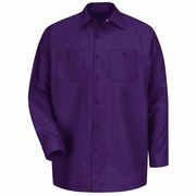 Red Kap Men's Industrial Work Shirt RG x 3XL, Burgundy