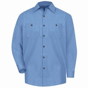 Red Kap Men's Geometric Micro-Check Work Shirt (SP14DNLNL)