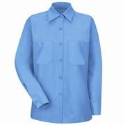 Red Kap Women's Industrial Work Shirt RG x XXL, Petrol blue