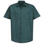 Red Kap Men's Industrial Work Shirt SS x 4XL, Spruce green