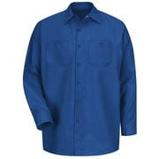 Red Kap Men's Industrial Work Shirt RG x 3XL, Royal blue