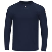 Bulwark Men's Long Sleeve Tagless T-shirt - Power Dry FR SMT4NVRG3XL