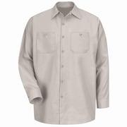 Red Kap Men's Industrial Work Shirt RG x 3XL, Light tan