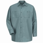 Red Kap Men's Industrial Work Shirt RG x 6XL, Light green
