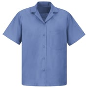 Red Kap Women's Uniform Blouse SS x M, Petrol blue