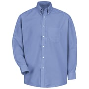 Red Kap Men's Easy Care Dress Shirt M x 323, Light blue