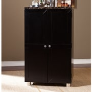 Wildon Home   Capri Bar Cabinet with Wine Storage