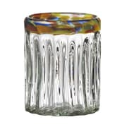 Global Amici Festival Optic Double Old Fashion Glass (Set of 4)