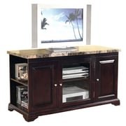 Hazelwood Home TV Stand; Mahogany