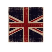 Heritage Lace Downton Union Jack Framed Graphic Art on Canvas