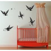 Pop Decors Butterfly Fairies Wall Decal