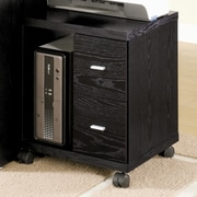 Wildon Home   Castle Pines Mobile Printer Stand; Black