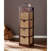 Wildon Home   Khoury 4-Basket Storage Tower