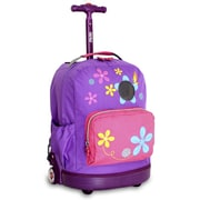 J World Aroma Kid's Rolling Backpack