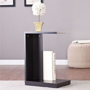 Wildon Home   Holly and Martin End Table; Black