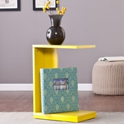 Wildon Home   Holly and Martin End Table; Citrine