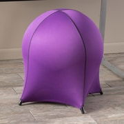 Home Loft Concepts Tuscany Ball Stool; Purple