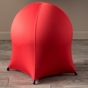 Home Loft Concepts Tuscany Ball Stool; Red