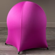 Home Loft Concepts Tuscany Ball Stool; Hot Pink