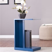 Wildon Home   Holly and Martin End Table; Navy