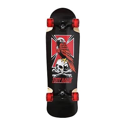 Tony Hawk Double Kick Pool Cross Skateboard; Black