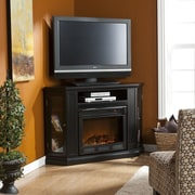 Wildon Home   Stuart Convertible Media Electric Fireplace