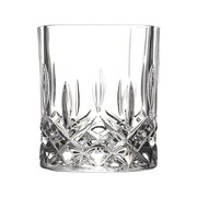 Lorren Home Trends Opera RCR 11 oz. Crystal Double Old Fashion Glass (Set of 6)