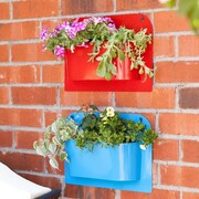 Wildon Home   Novelty Wall and Hanging Planter (Set of 2)