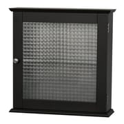 Elegant Home Fashions Chesterfield 18.5'' x 18.5'' Surface Mount Mounted Cabinet