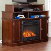 Wildon Home   Lincoln TV Stand with Electric Fireplace