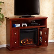 Wildon Home   Faulkner TV Stand with Electric Fireplace
