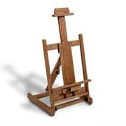 American Easel Oak Folding Table Top Easel