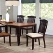 Iconic Furniture Open Side Chair (Set of 2); Mocha