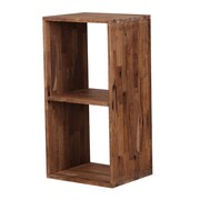 Moe's Home Collection Mountain Teak 32.7'' Cube Unit