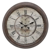Woodland Imports Oversized 28'' Boylston Wall Clock