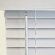 Wildon Home   Faux Wood Venetian Blind; 45.5'' W x 48'' L