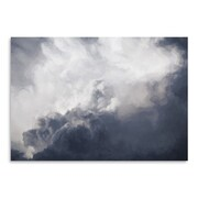 Americanflat Urban Road Clouds Poster Painting Print