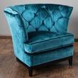 Home Loft Concept Princeville Tufted Arm Chair