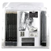 Royal & Langnickel Essentials Sketching Pencil Set (Set of 21)
