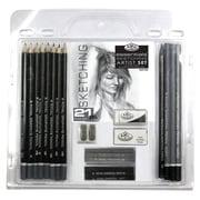 Royal & Langnickel Essentials Sketching Pencil Set (Set of 21)