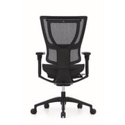 Eurotech iOO Fabric Executive Office Chair, Adjustable Arms, Black (IOO-BLK)