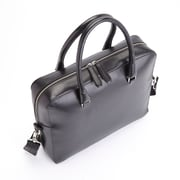 "Royce Leather RFID Blocking Black Saffiano Leather 15"" Laptop Executive Briefcase (RFID-764-BLK-2)"
