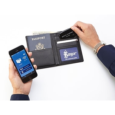 Royce Leather GPS Tracker for Locating Lost Wallets & Bags