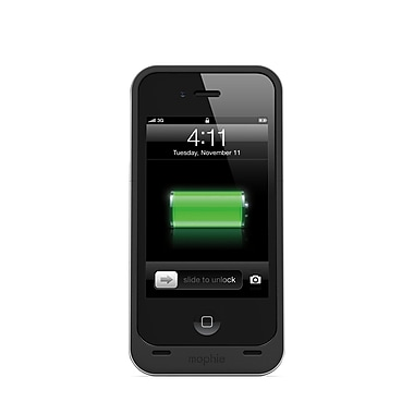 Mophie Juice Pack Air Battery for iPhone 4/4S, Black