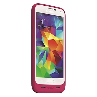 Mophie Juice Pack Battery for Samsung Galaxy S5, Pink