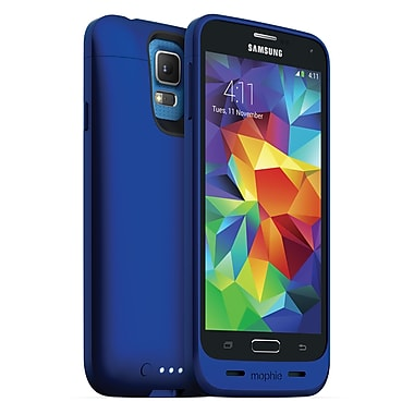 Mophie Juice Pack Battery for Samsung Galaxy S5, Blue